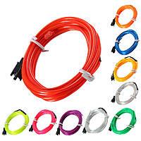2m-эль привело гибкой мягкой трубки провода неонового свечения автомобиля веревка полоса света Xmas декор 12 В постоянного тока