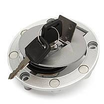 Топливный газ бензобака крышка с замком для ключей Yamaha fzr250 fzr400 fzr600 fzr750, фото 3