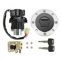 Выключатель зажигания двигателя ключ крышка топливного бака газа сиденья замком для Suzuki TL1000R 1998-2003