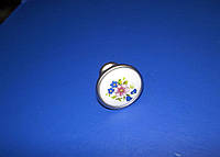 РУЧКА керамика кнопка K-301 G6/01W
