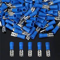 Excellway® EC34 15А Тепловое Женский Spade Терминальные Электрические провода Обжимные соединители