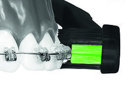 Зубная щетка MegaSmile «Ortho Black Whitening»  (2 шт. в упаковке)