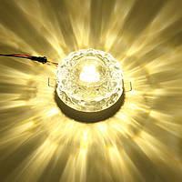 Современный 5w кристалл потолочный светильник заподлицо кулон люстра лампа для прохода прихожей
