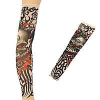 1шт татуировки рука рукав нейлон спандекс эластичные чулки временные
