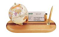 Глобус настольный Bestar c ручкой, светлая вишня 95 мм англ яз