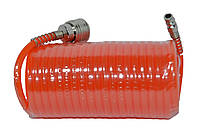 Шланг спиральный с быстроразъёмным соединением 5 м. Htools 80K172