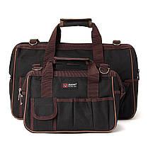 Оксфорд ткань мульти funtional комплект инструмент оборудования плечевой ремень сумка для инструментов рюкзак, фото 3