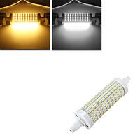 DIMMABLE R7s 118mm 8w 180 СМД 4014 LED чистый белый теплый AC85-265V лампы белый свет лампы