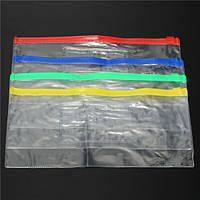 Прозрачный файл мешки держатель упаковки 235x115mm пвх