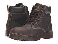 Ботинки/Сапоги (Оригинал) Dr. Martens Winch Service Waterproof 7-Eye Boot Brown Crisscross Waterproof