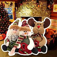 Рождество конфеты мешок дерево декора украшения Xmas декор Санта-Клауса снеговик оленей