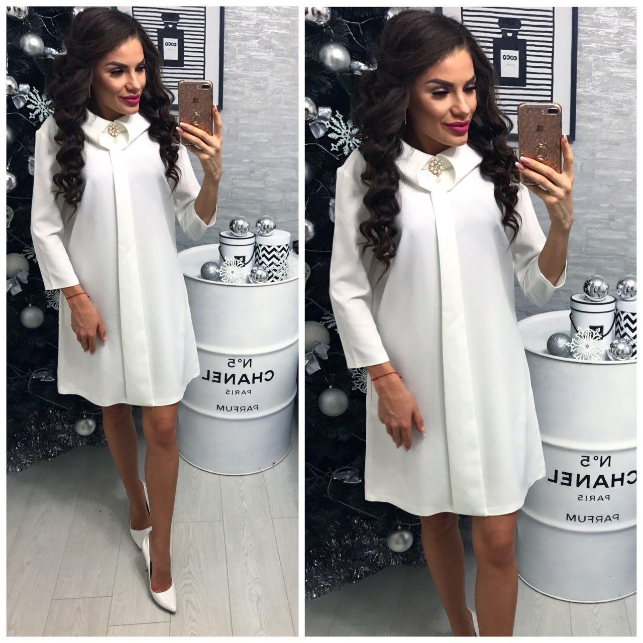 Платье женское, модель 770, молочный