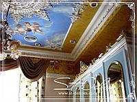 Роспись потолка в детской комнате ''Ангелочки''