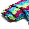 180x90cm три цветных полосок пряжи вязание хвост русалки одеяло теплый мешок супер сна коврик мягкая кровать, фото 4
