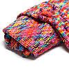 180x90cm красочные пряжи вязание хвост русалки большое одеяло нагреться супер мягкой кровати мешок коврик сна, фото 4