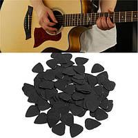 100 шт 0.71mm целлулоида медиаторы для акустической бас-гитары