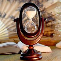 Песочные часы белый песок 10 минут (22х12,5х8 см)