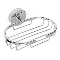 Нержавеющая сталь серебро настенный душ корзина хранения мыльница