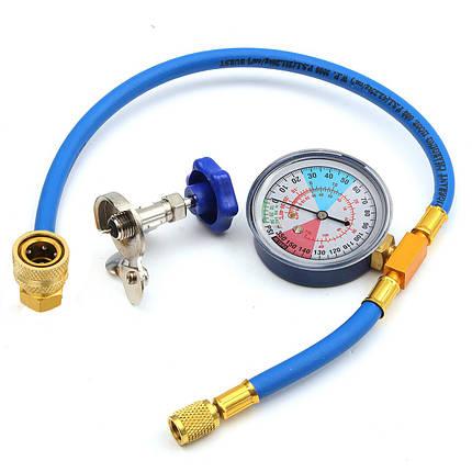 250PSI перезарядка измерительный шланг хладагента манометр клапан трубы R134A r12 r22, фото 2