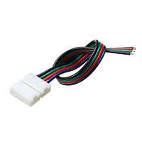 10мм ширина печатной платы разъем solerless провод 4-контактный разъем для не-водонепроницаемый RgB LED полосы