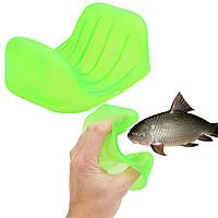 Предотвратить зарезал Антипробуксовочная поймать рыбу ловить захват перчатки Средства защиты рук пойманной рыбы устройство