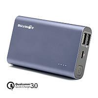 [Qualcomm Certified] BlitzWolf® BW-P3 Универсальный внешний аккумулятор 10000mAh 18W QC3.0 Dual USB Port Power Bank с технологией Power3S