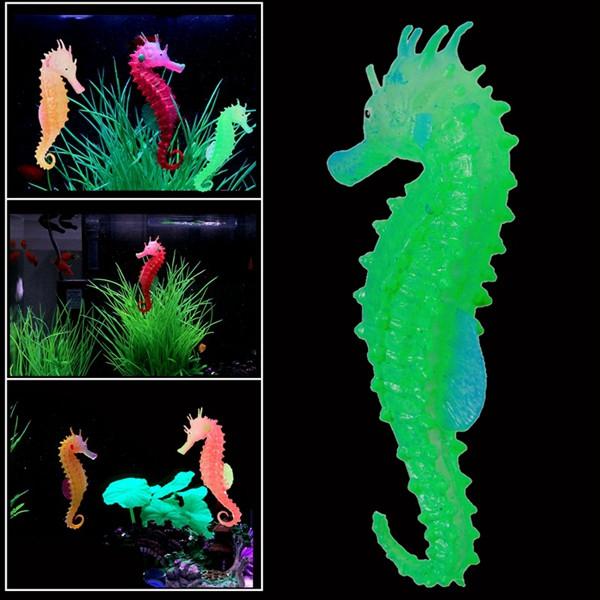 Светящихся искусственный смоделированные гиппокамп экологически чистый материал аквариума декор аквариума - ➊TopShop ➠ Товары из Китая с бесплатной доставкой в Украину! в Днепре