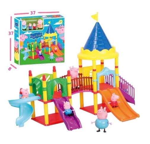 Игровой набор детская площадка свинки Пеппы Peppa Pig