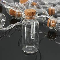 С питанием от батарей 20 LED желая бутылка фея свет шнура Рождество сад свадьба декор, фото 3