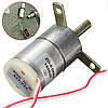 DC12V 25 оборотов в минуту редуктор двигателя 32мм stabilivolt двигатель замена электродвигатель, фото 2