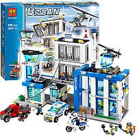 Конструктор Bela 10424 Urban Полицейский участок 890 деталей
