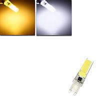 Затемняемый G9 LED 3w чистый белый теплый белый початок LED свет лампа AC220V лампа
