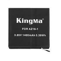 4k батареи 2 штук 1400mAh батареи и двойное зарядное устройство USB для Xiaoyi 4k Xiaomi Yi Kingma, фото 2