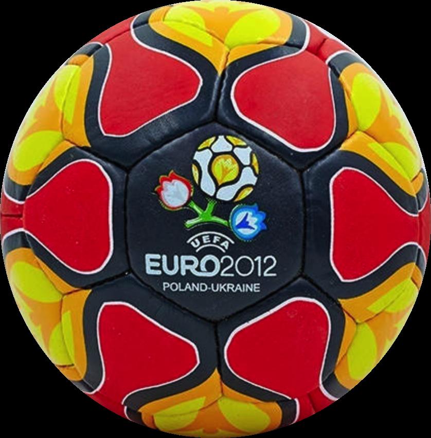 Футбольный мяч EURO-2012 крас. чер. - интернет-магазин «BallMasterUA e20c01ed05589
