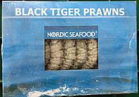 Креветки черные тигровые с головой (1 кг)