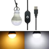 5w USB LED лампа с датчика касания переключателя для наружного кемпинга походы чрезвычайных 5v