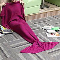 180x90cm пряжа вязание хвост русалки одеяло кашемира, как теплый супер мягкий мешок сна кровать коврик