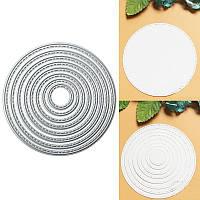 8шт металлическое кольцо высечки поделки записках фото декор бумажной карточки подарок партии
