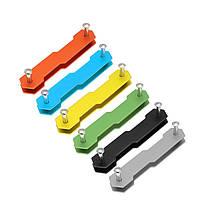 AOTDDOR® алюминиевый двойной открытый ключ Клип DIY брелок для хранения EDC Инструмент, фото 2
