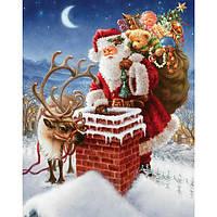 40x30см 5d алмазов картина поделки Санта отец Рождество вышивки крестом вышивка