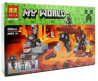 Конструктор BELA 10469 Иссушитель Майнкрафт (аналог Lego  21126)