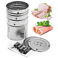 Из нержавеющей стали пресс-ветчины производитель мяса птицы рыбы морепродуктов инструменты домашние блюда кухни