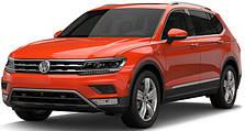 Защита двигателя на Volkswagen Tiguan (c 2016--)