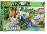 Конструктор BELA 10468 Железный Голем Майнкрафт (аналог Lego  21123)