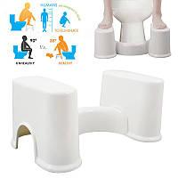 ABS съемный портативный туалет стул предотвратить запор подножие правильное положение для дефекации
