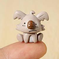 Крошечный размер 2 см Коала мини-статьи орнамент кукольный / офис / домашний / автомобиль меблировки
