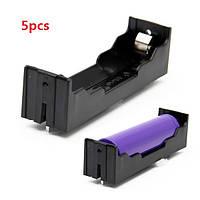 5pcs DIY 1-Slot 18650 Battery Holder With Pins