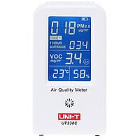 UNI-T UT338C 7 в 1 VOC детектор формальдегида PM2.5 мониторинга качества воздуха тестер