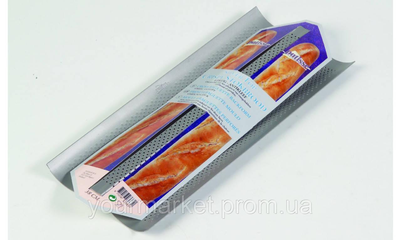 Форма для 2-х багетов Patisse 38х16 см, 03663