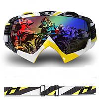 Мотоцикл ricing очки пылезащитный windprooof Мотокросс шлем очки для nenki 1019